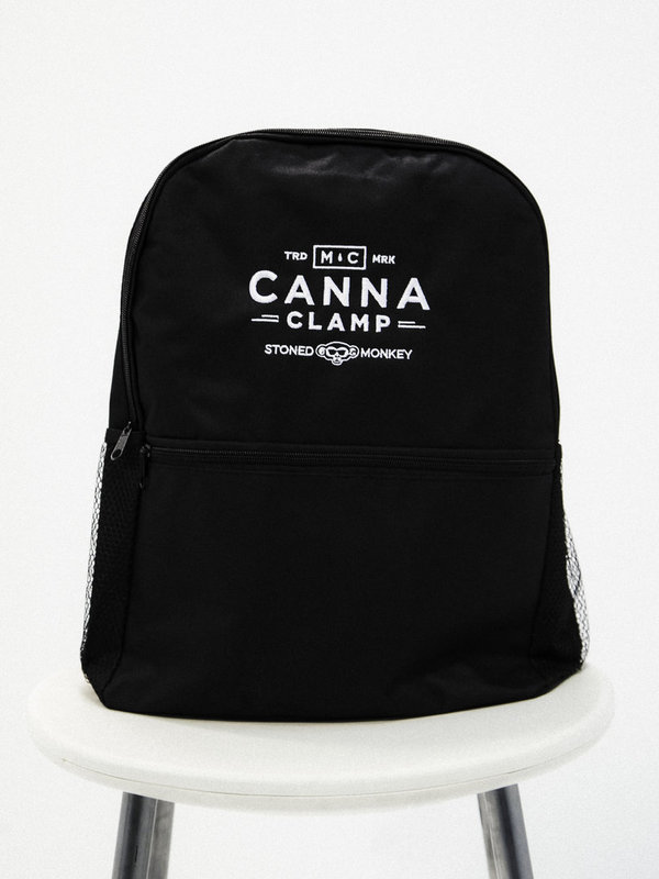Mochila bordada Canna Clamp